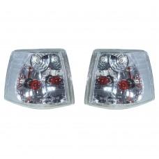 Hoeklicht set, links en rechts, helder glas, Volvo 850, ond.nr. 6817027, 6817028