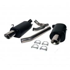 BSR SportFlow Duplex sport uitlaatsysteem, Volvo 850, S70, V70 AWD, ond.nr. 4002020