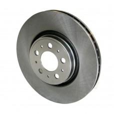 Remschijf voor, 17 inch, OE-Kwaliteit, Volvo S60, S80, V70, XC70, ond.nr. 9475266