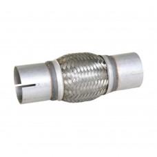 """Flexibel uitlaatdeel, interlock, klemstuk, 2.25"""" diameter, 200mm lang"""