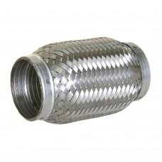 """Flexibel uitlaatdeel, interlock, lasstuk, 2.5"""" diameter, 250mm lang"""