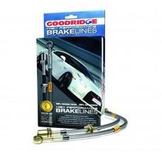 Goodridge remslangenset, staalomvlochten, Volvo S60, bj 2004-2009
