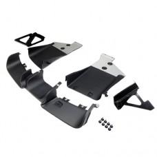 Diffuser en Aerodynamica GP2 Style achterbumperset, Mini R56, R57, R58, R59