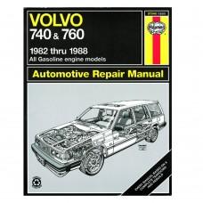 haynes werkplaatshandboek, Volvo 740, 760 benzine, bouwjaar 1982-1988