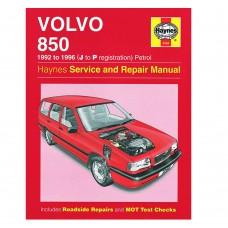 Haynes werkplaatshandboek, Volvo 850 benzine, bouwjaar 1992-1996