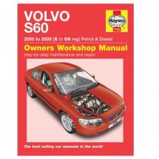 Haynes werkplaatshandboek, Volvo S60, bouwjaar 2000-2009
