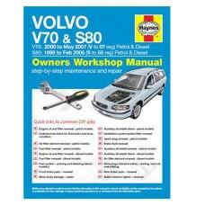 Haynes werkplaatshandboek, Volvo S80, V70-II, bouwjaar 1998-2007