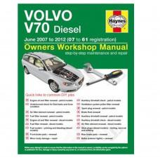 Haynes werkplaatshandboek, Volvo V70-III Diesel, bouwjaar 2007-2012