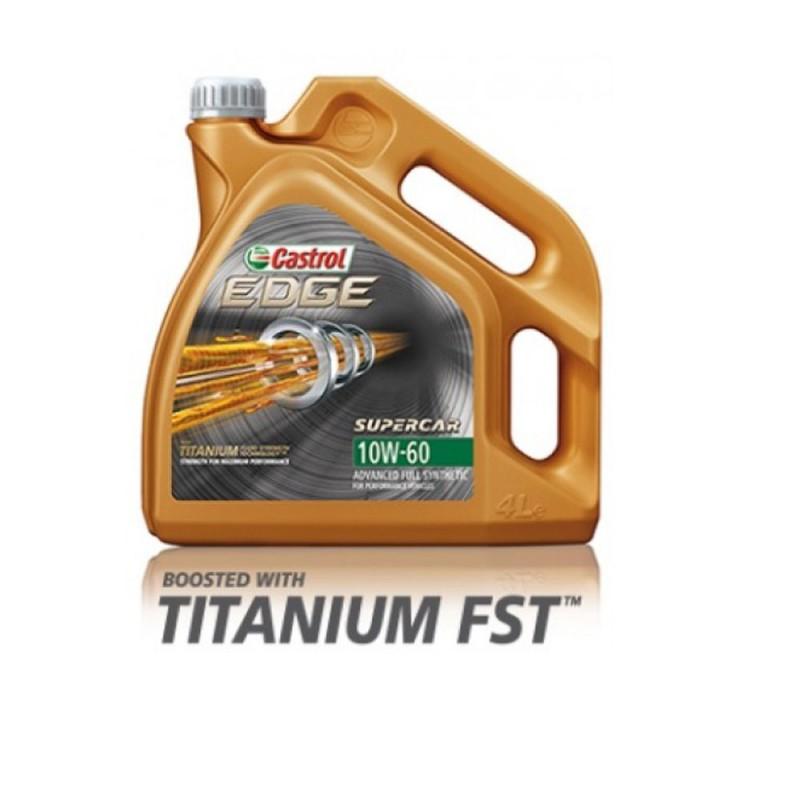 Castrol Edge 10W60 motorolie, 5 liter verpakking